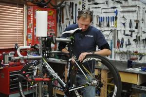 Jim Repairing Bike